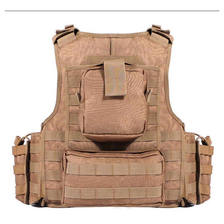 Military Army  Police Tactical Combat Vest For Shooting and Outdoor Hunting Games Vest Featured Image