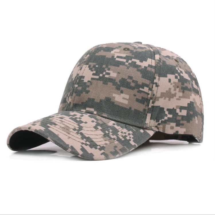Factory direct sales custom baseball cap camouflage military cap officer camouflage cap