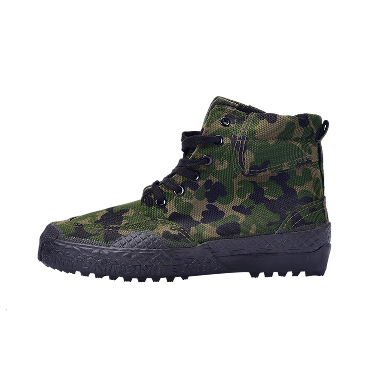 Camouflage army tactical camouflage shoes military shoes men's combat shoes Featured Image