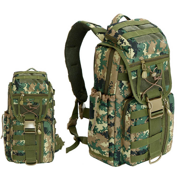 Outdoor mountaineering bag tactical Backpack Sports camouflage backpack