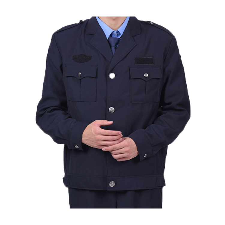 Chinese factory supply design men and women security guard uniform in different color,security clothing