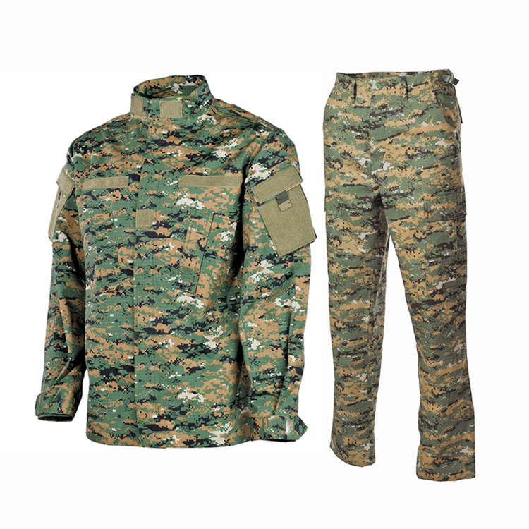 New wholesale digital woodland combat uniform,canadian army cadpat digital camo uniform