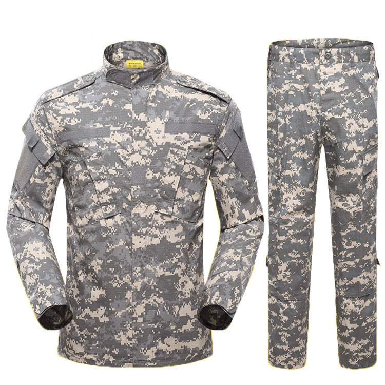 Wholesale ACU Universal Army uniform clothing Combat military dress, American Army Military Suit Camouflage Military Uniform