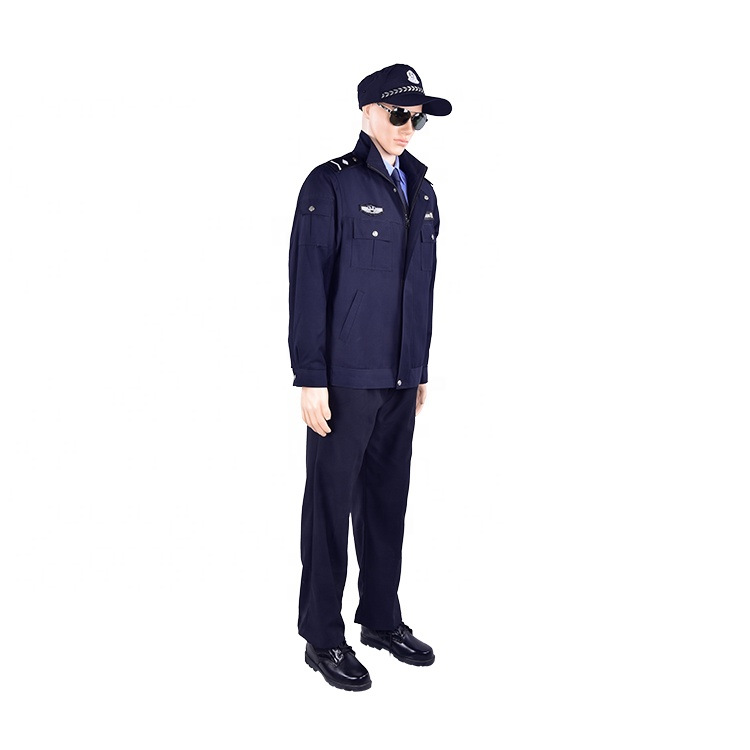High quality long sleeve security uniforms jacket security guard winter uniform jacket Featured Image