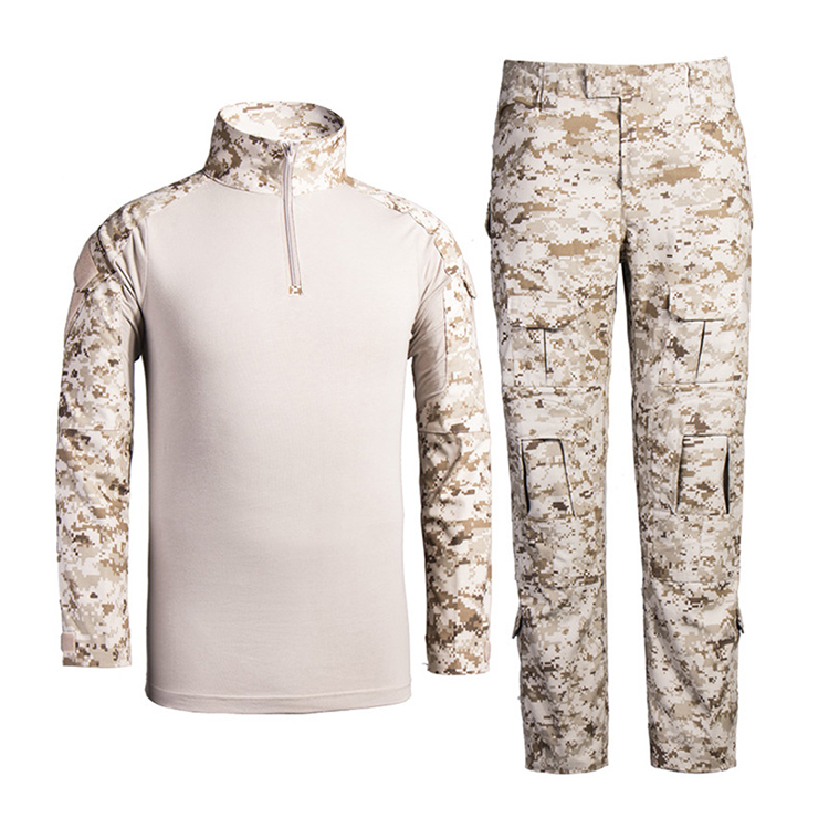 OEM Wholesale Long sleeve digital desert military clothing for sales military tactical clothing
