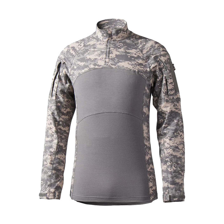 OEM Wholesale Long sleeve camouflage ACU tactical army suit clothing military