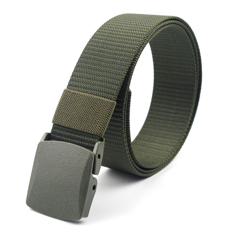Wholesale Men's Outdoor Sports Military Tactical Nylon Belt