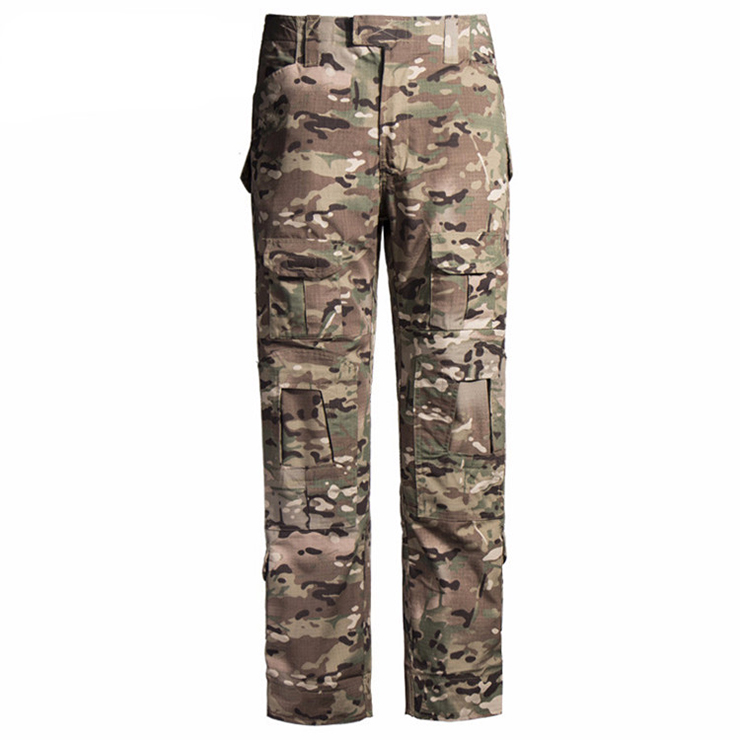 Wholesale high quality Customized PU camouflage tactical military army pants