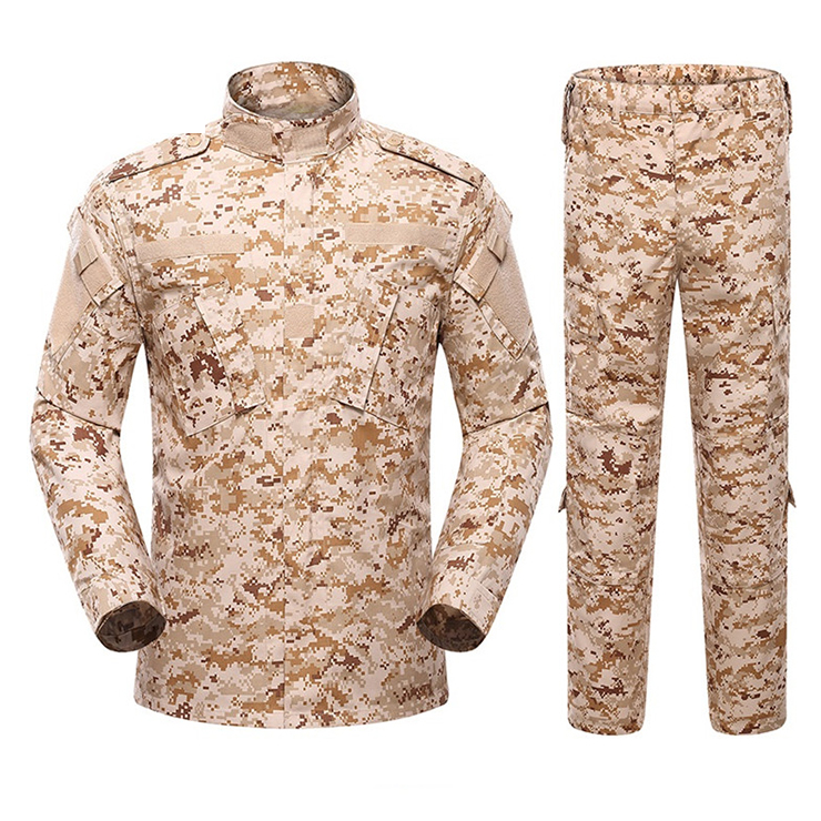 Military camouflage desert digital tactical uniform military