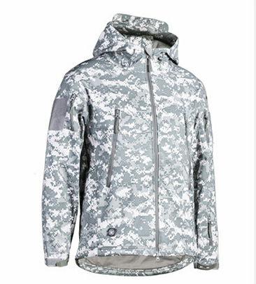 windproof jacket Military  Soft shell Jacket  tactical wholesale for army combat