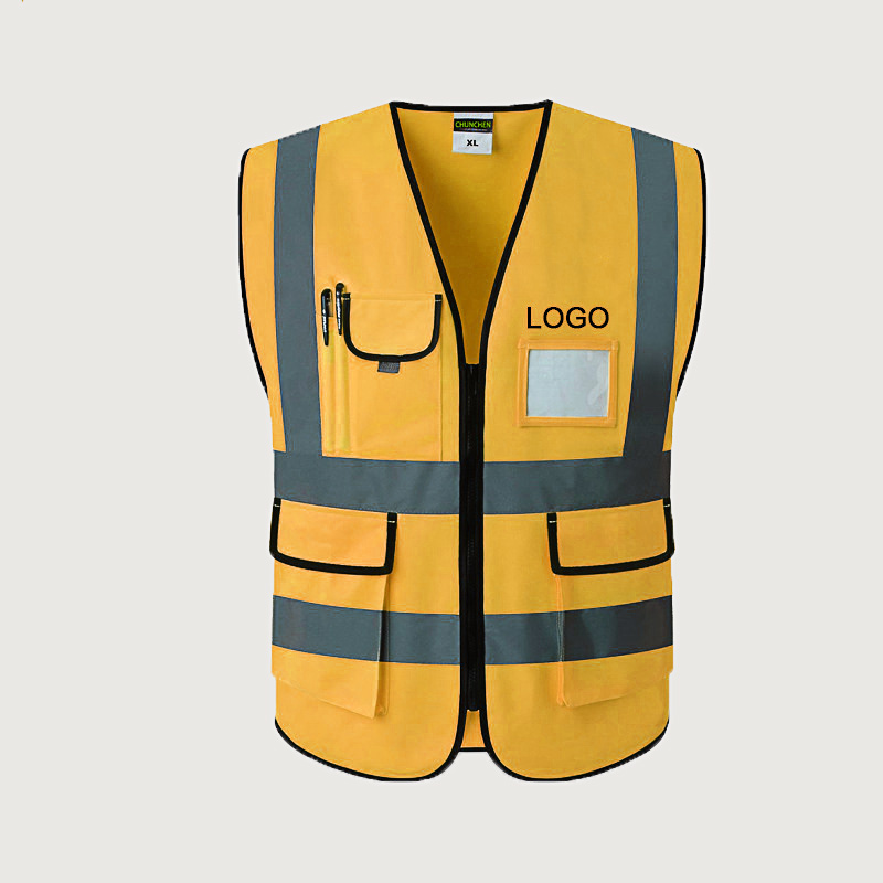 custom work reflective safety vest ,safety vest pockets