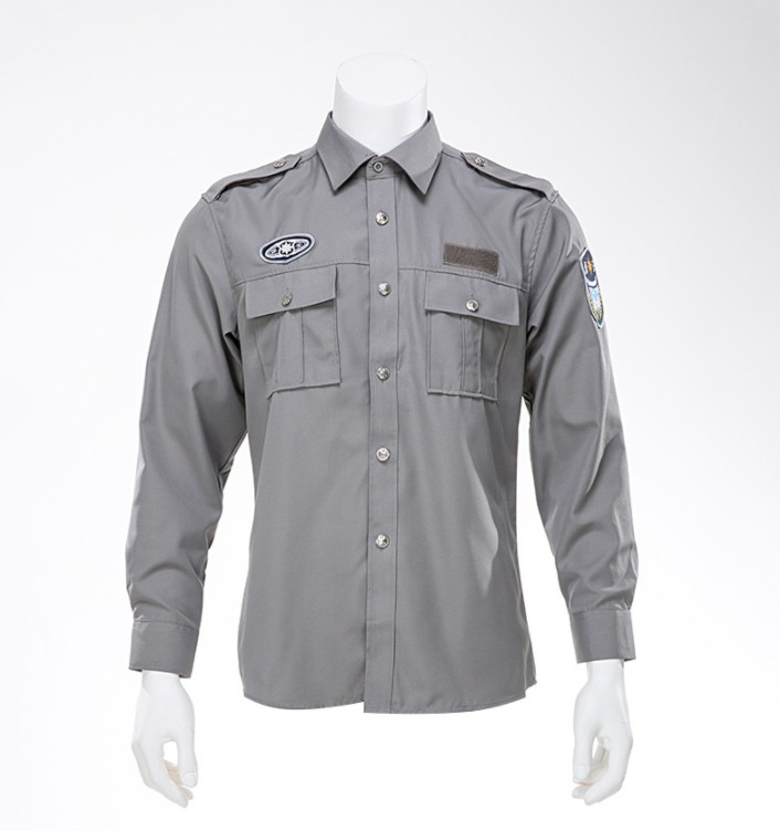 Wholesale high quality security guard uniform philippines navy blue security uniform shirts