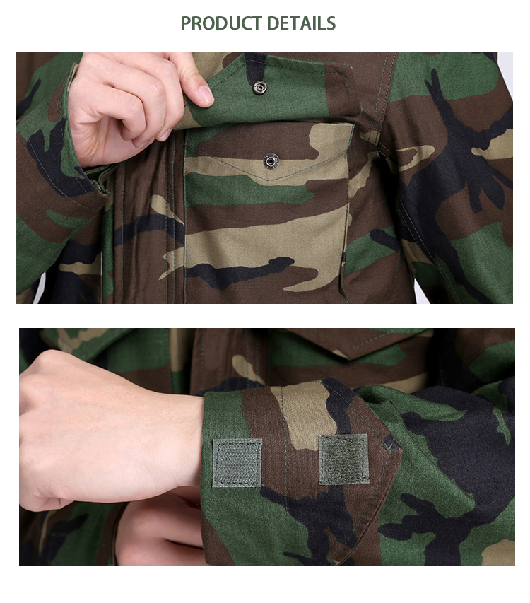 Wholesale M65 Long Sleeves Camouflage Jackets For Men M65 Camouflage Military Combat Clothing