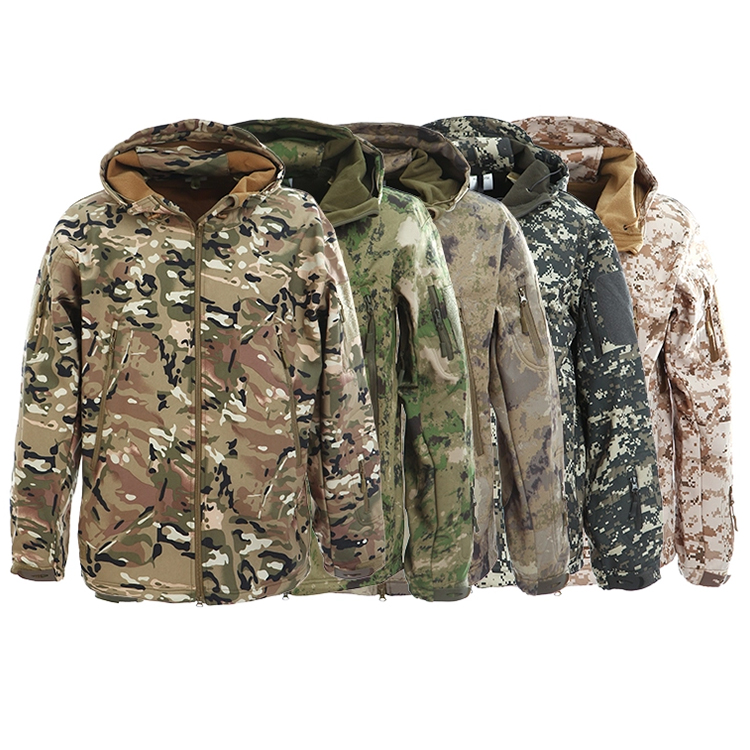 Outdoor casual soft shell jacket outdoor military tactical ,Military/Tactical softshell jacket