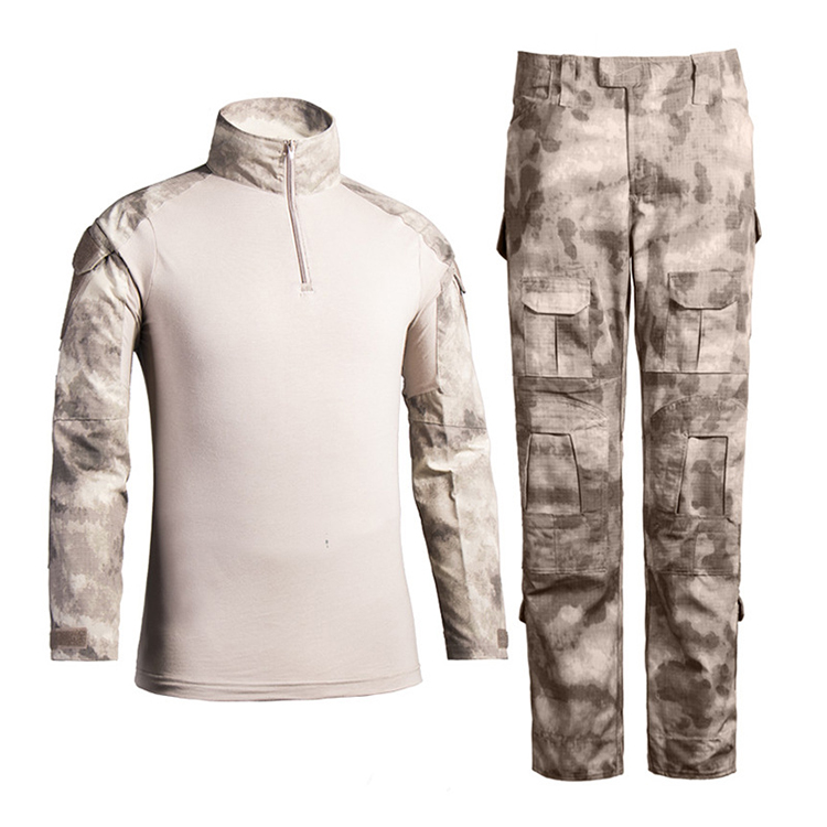 custom military camouflage uniform Goth Desert tactical suit army military uniform