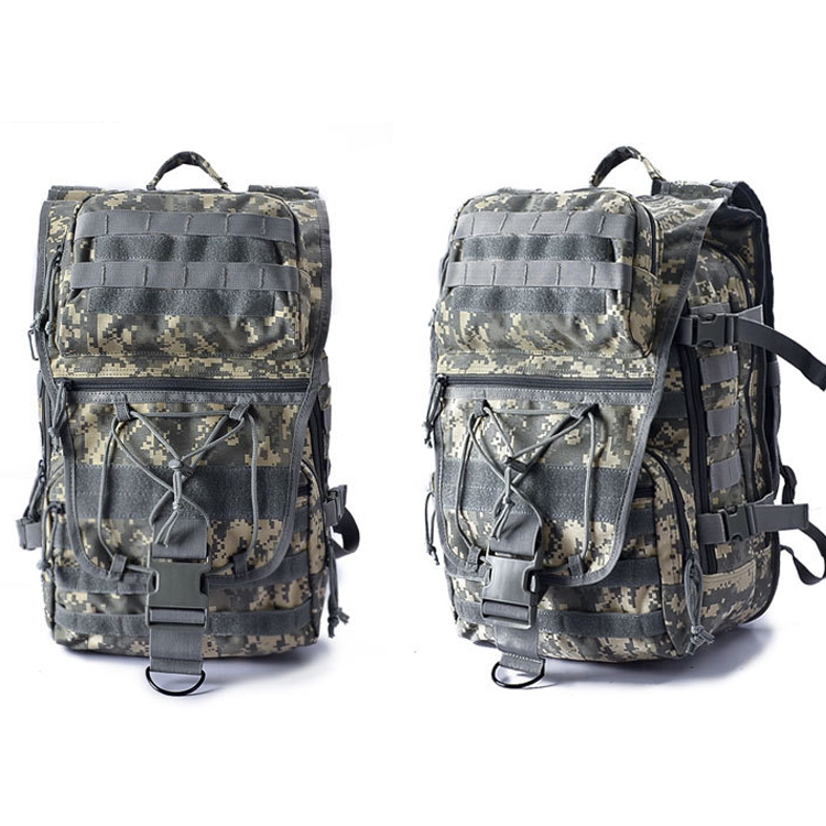 Wholesale Custom Outdoor Army Hunting Camouflage Tactical Military Army Backpack  For Travel Hiking