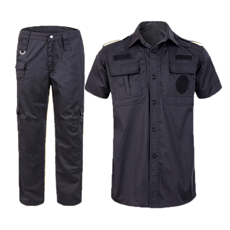 Wholesale Best tactical military uniform,grid short-sleeved training suit