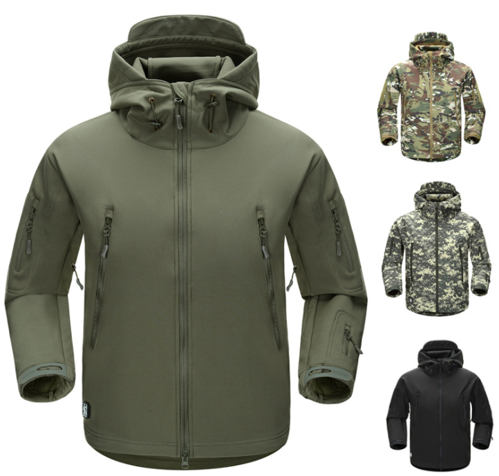Soft Shell  Military Jackets for Tactical Army man windproof Featured Image