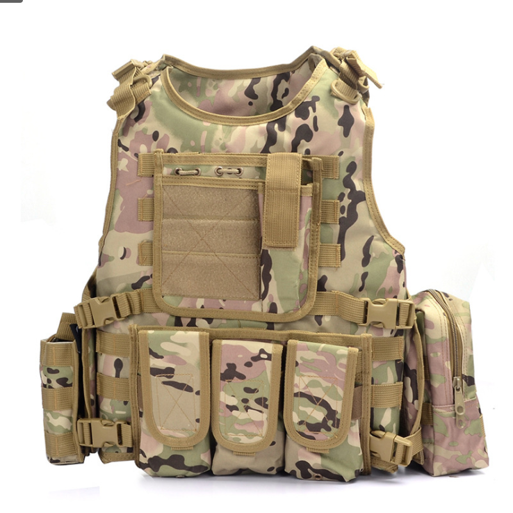 Wholesale Outdoor Sports Protective  Tactical Hunting training  Vest Military Equipment