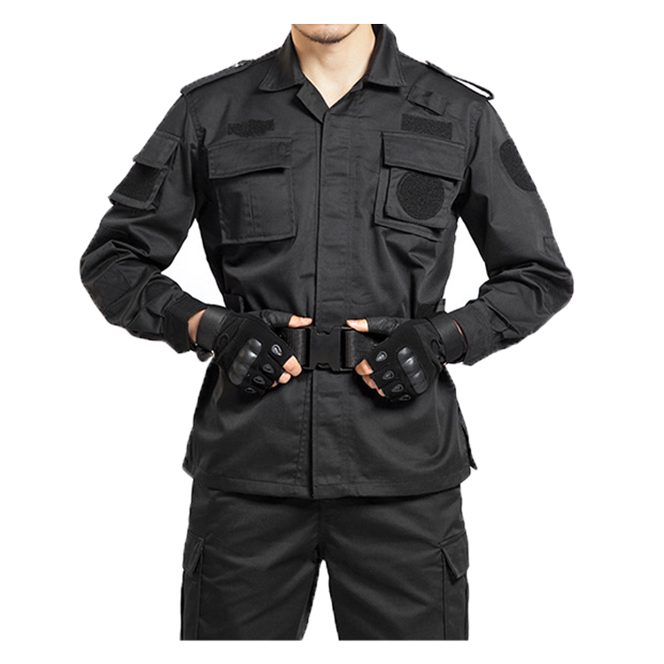 Wholesale Custom black tactical uniform ,security guard uniforms tactical