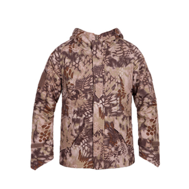 New Outdoor Army Military Clothing Tactical Python desert Military G8 Men Jacket