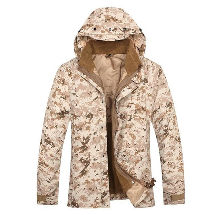 Hot Sale Men's Outdoor Desert Digital Camouflage G8 Army Style Jacket ,military winter jacket