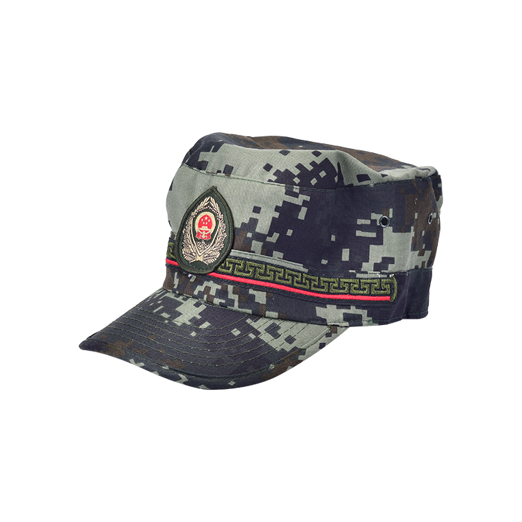 New style custom Outdoor 100% cotton caps, camouflage hat