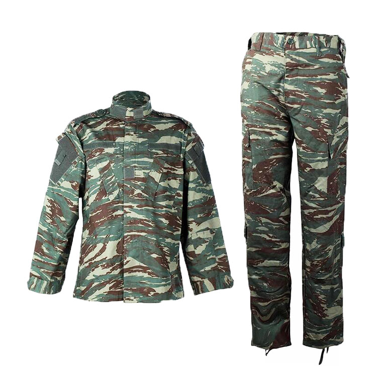 Wholesale custom greek camo military uniform, greek camouflage tactical combat uniform