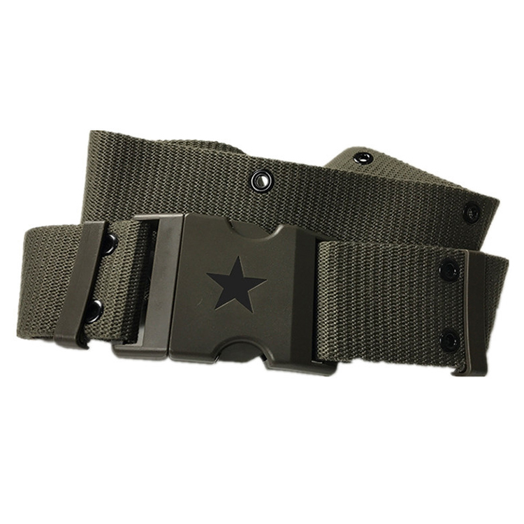 Wholesale High Strength Durable Daily Outdoor Belt Tactical Belt,  Adjustable Webbing Military Tactical Belt