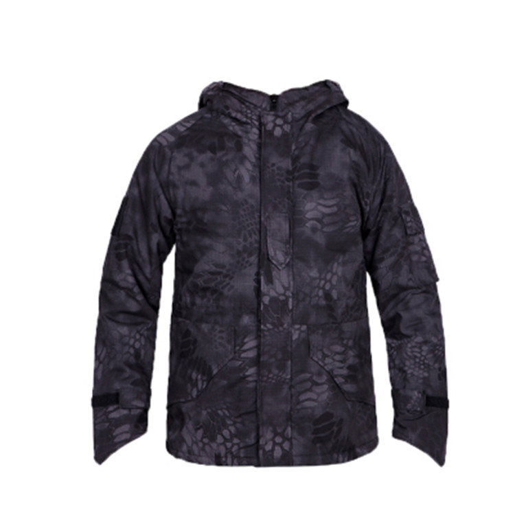 G8 Man Hunting Jackets Leaves Camouflage Windproof Thermal Outdoor Hunting Outerwear Coats