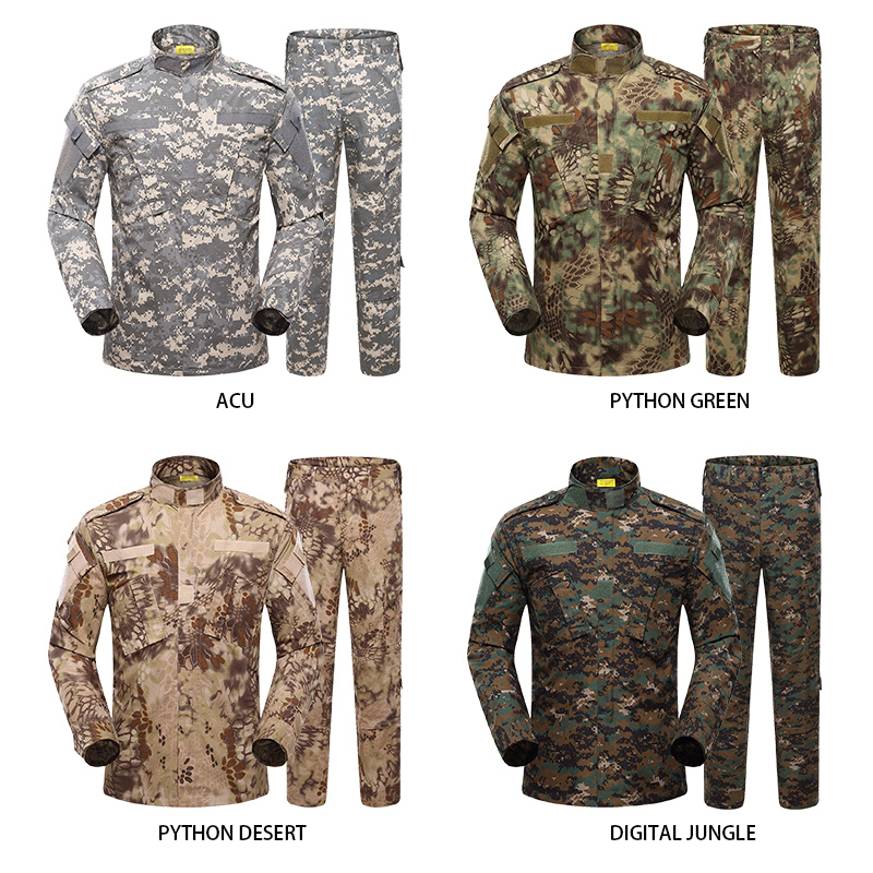 Wholesale ACU  army military uniform camouflage uniform military clothing