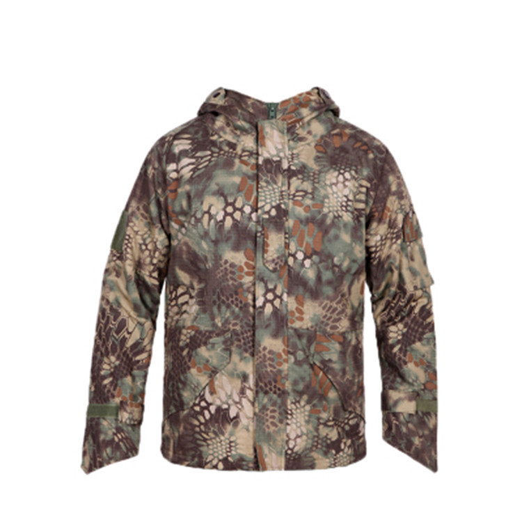 New Outdoor Hard Shell python Jacket Field Jacket G8 Military Tactical Fleece Jacket for Man Featured Image