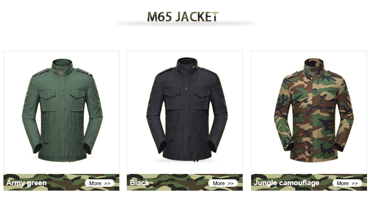 New Design custom bdu acu m65 jacket, m65 jacket tactical gear