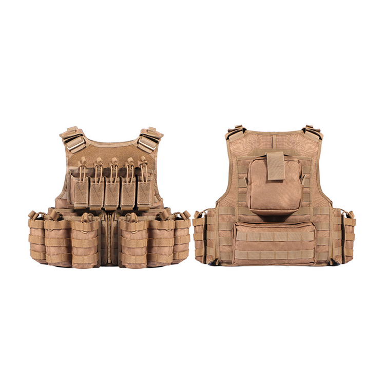 Wholesale high quality custom police military vest tactical gear vest Featured Image