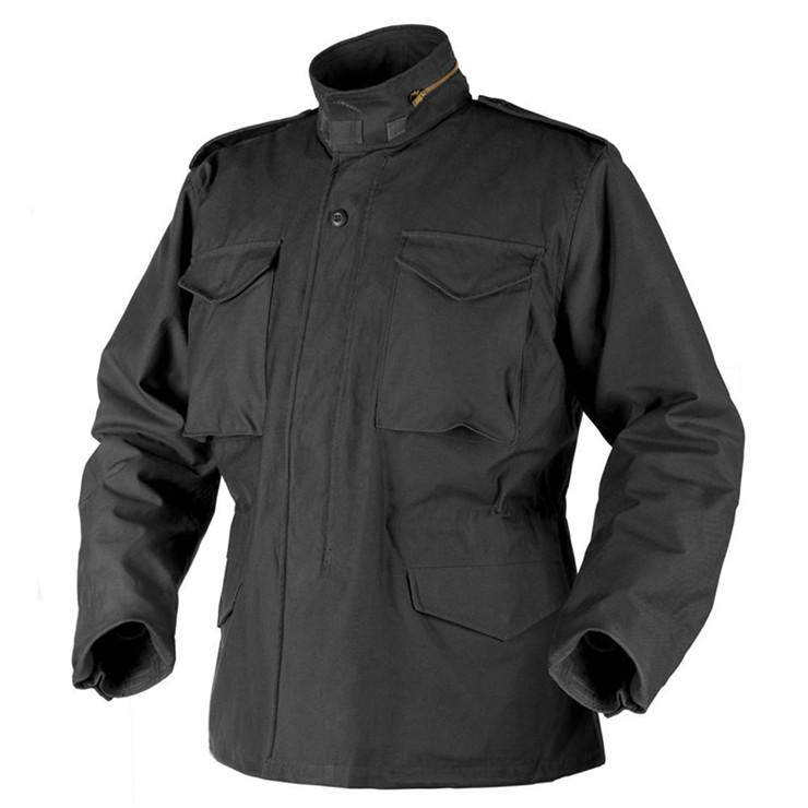 Black M65 military tactical winter jacket, Army Military Suit