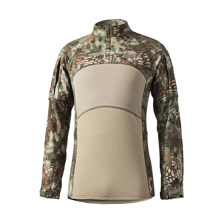 OEM Wholesale Long sleeve camouflage outdoor python tactical army suit