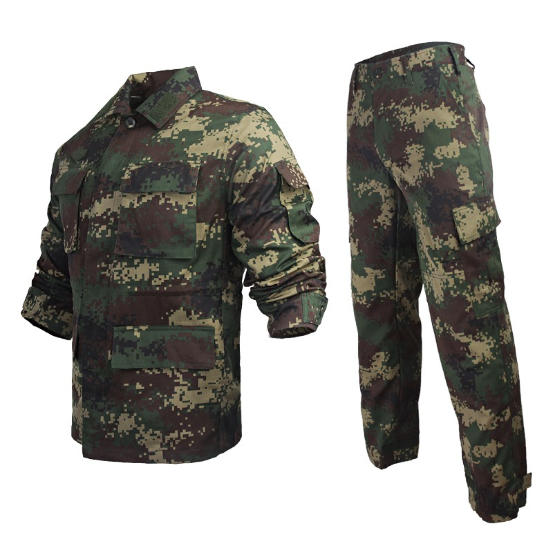 Custom army waterproof green jacket army camouflage uniform