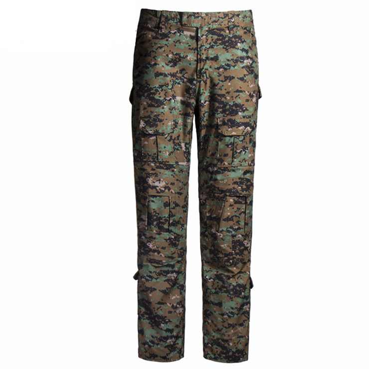 Wholesale high quality custom  camo cargo pants Digital jungle camo tactical pants