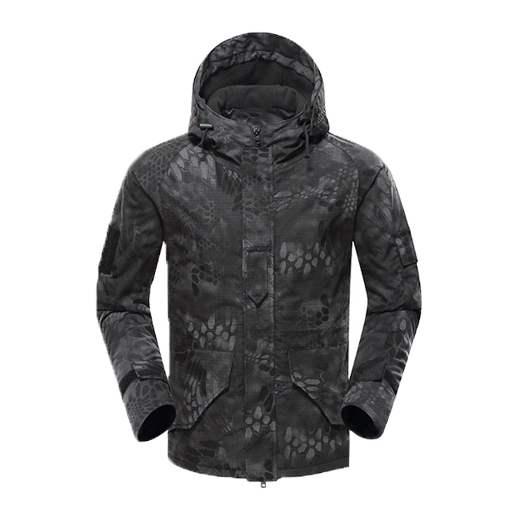 New Design black python g8 tactical jackets camouflage breathable g8 waterproof army military jacket