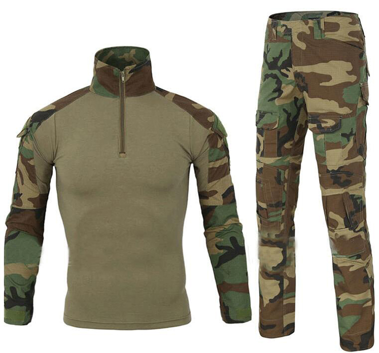 OEM Service Outdoor military clothes clothing stores wholesale Frog suit cheap tactical suit,frog military uniform