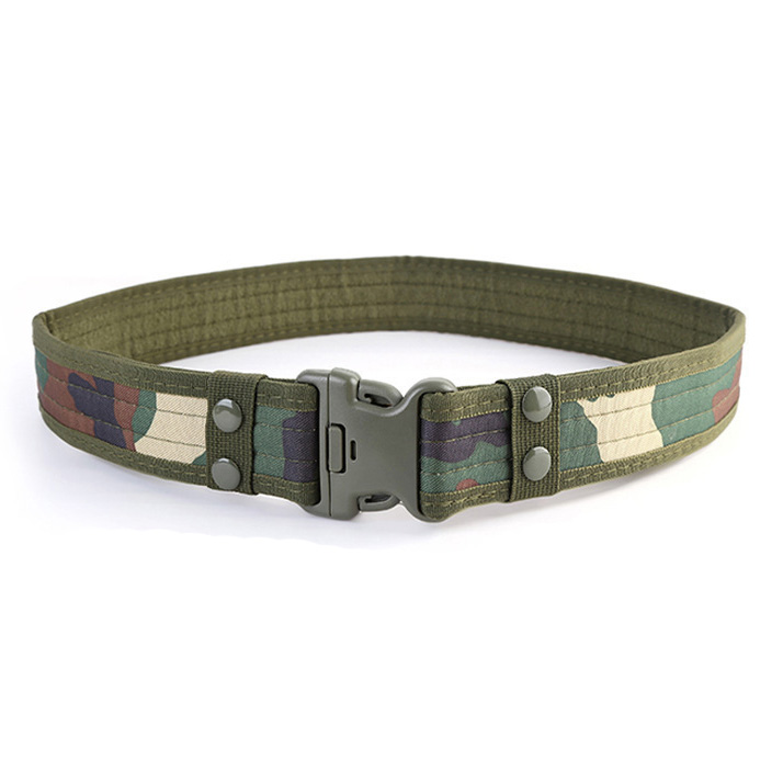 Wholesale high quality outdoor combat belt tactical belt adjustable tactical belt