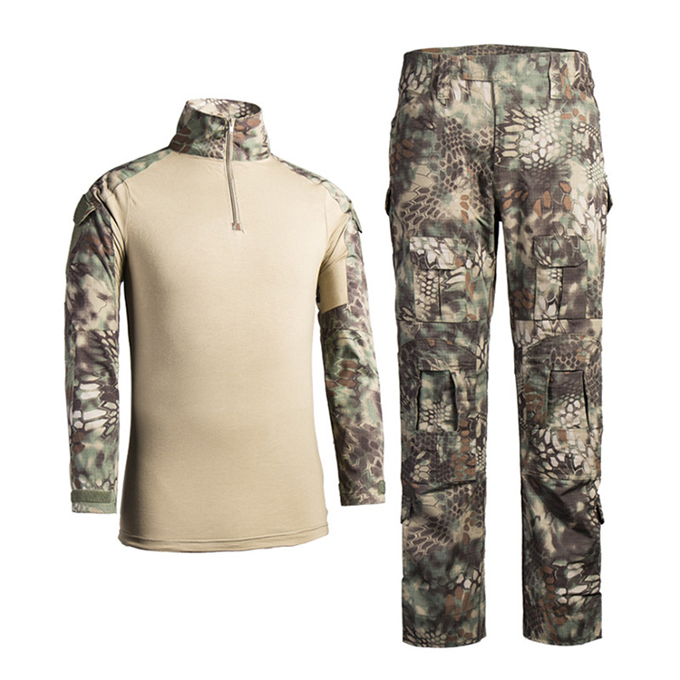custom military uniform military clothing python camouflage tactical suit
