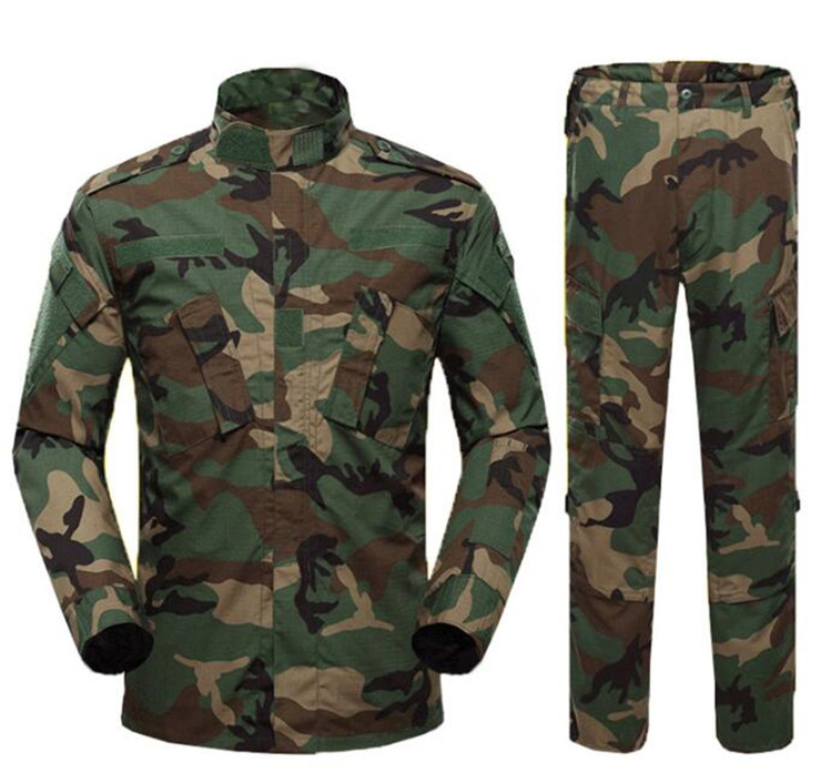 2019 Good Quality Woodland Military Uniforms -