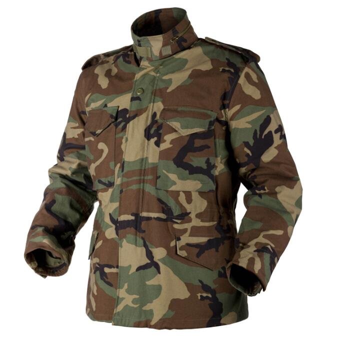 Wholesale  winter camouflage woodland military jacket ,M65 Army Combat Uniform Featured Image