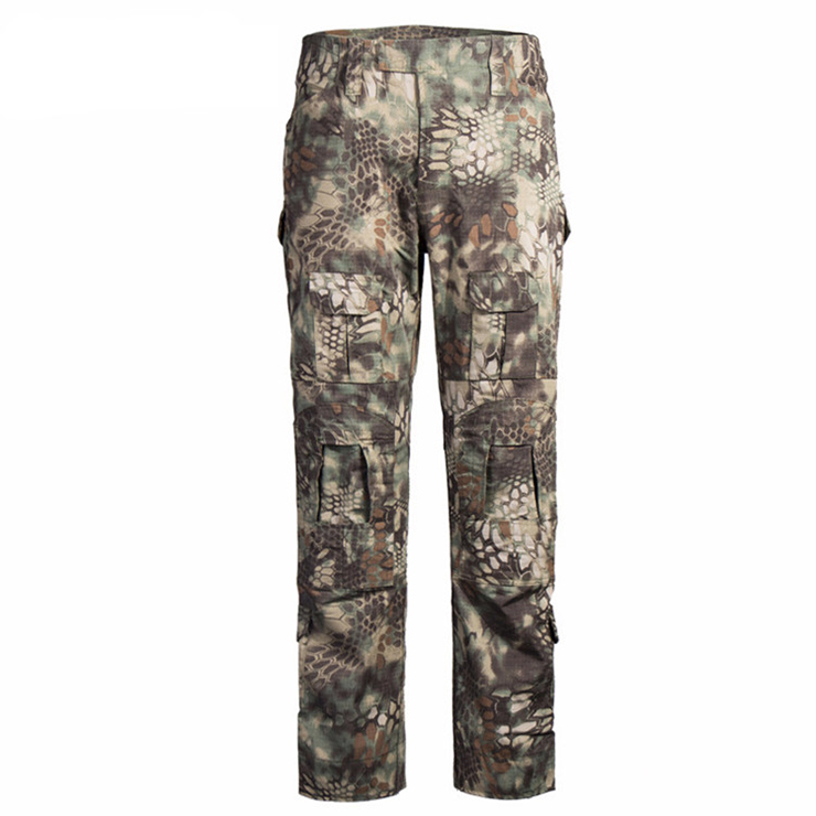 custom python green tactical combat pants military tactical pants for men