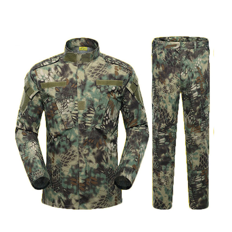 Wholesale ACU python military uniform ,mountain python camo acu military uniform