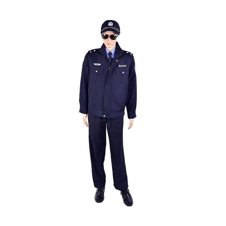 best  design security guard uniform black cheap security uniforms