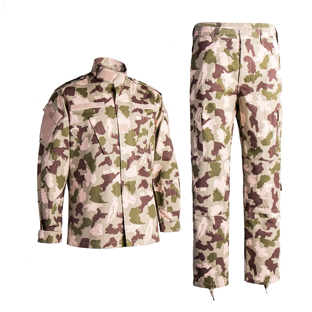 Stock and Wholesale military camouflage uniform coat,Army Battle Camo Uniform