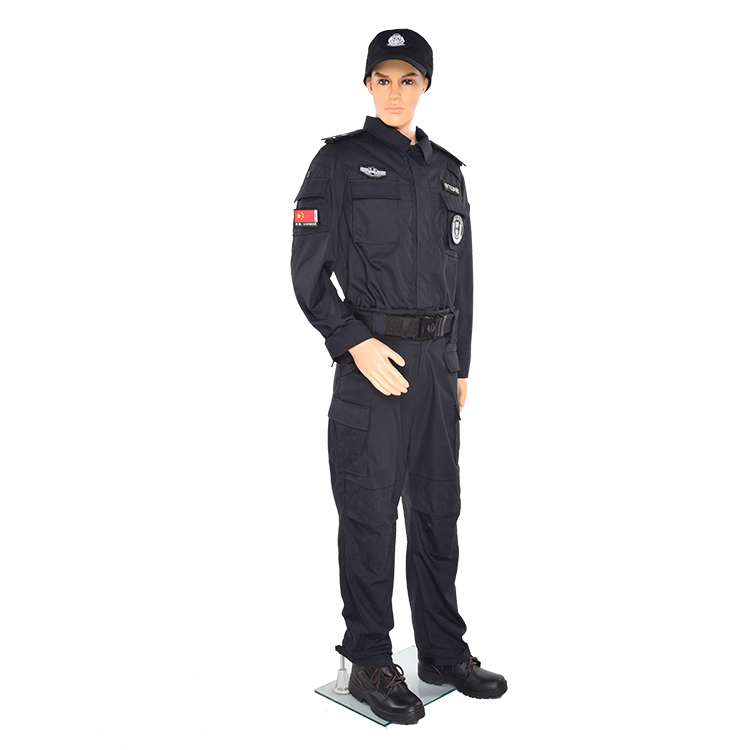 Wholesale design security guard uniform for security guard officer uniforms black security uniform
