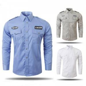 Long sleeve shirt for security service